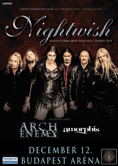 Nightwish + Amorphis + arch enemy