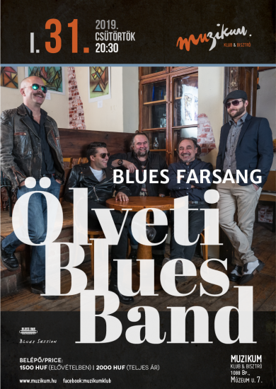Ölveti Blues Band – Blues farsang