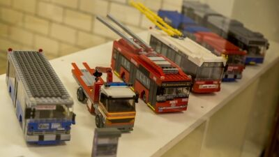 Közlekedési eszközök építőkockából