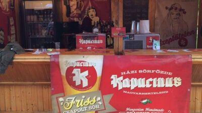 11 féle kiváló sör a Kapucinustól
