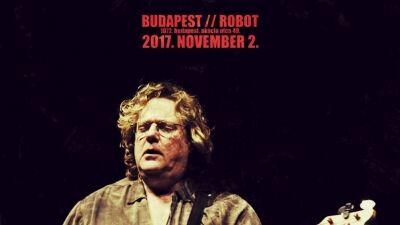Stu Hamm Band Budapesten!
