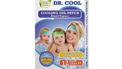Dr. Cool hűsítő géltapasz