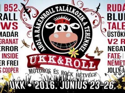 A Megyer Camp-et váltja június 23-26. között az Ukk & Roll fesztivál