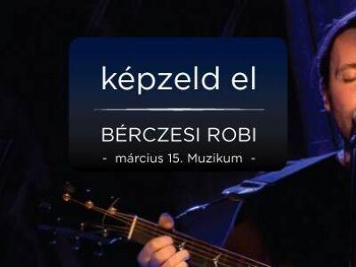 Bérczesi Robi szerzői estje