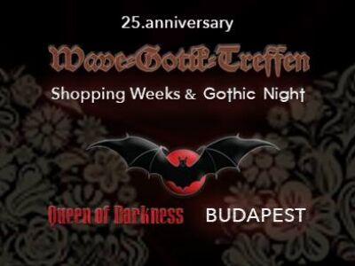 Újabb Gothic Night és kedvezmények a Queen of Darkness-től