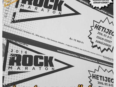 Közkívánatra újraindult a jegyelővétel a Rockmaratonra!