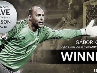 UEFA: Király Gáboré az év legnagyobb védése!