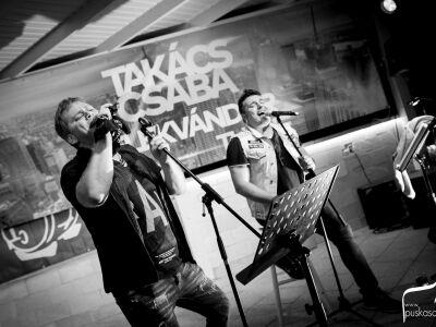 A Dunán ad koncertet Závodi Gábor új rockfelfedezettje