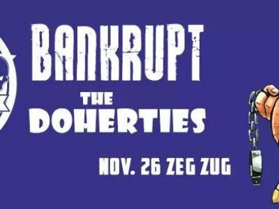 The Joystix / Bankrupt / The Doherties koncert a Zeg Zugban