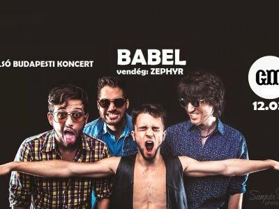 Utolsó esély – évzáró BABEL buli a GMK-ban