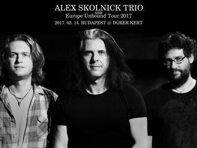 Márciusban jön az Alex Skolnick Trio