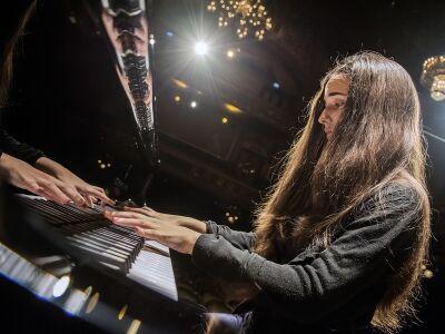 Gyöngyösi Ivett zongoraestje a Zeneakadémián