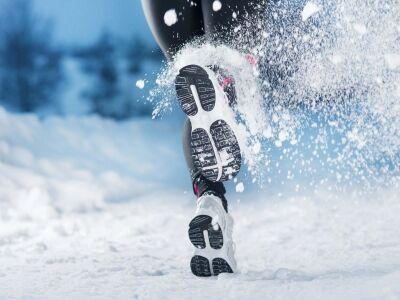 Edzés a téli hidegben