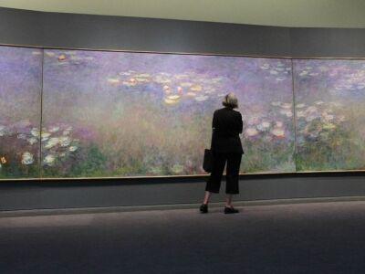 A modern kert festői