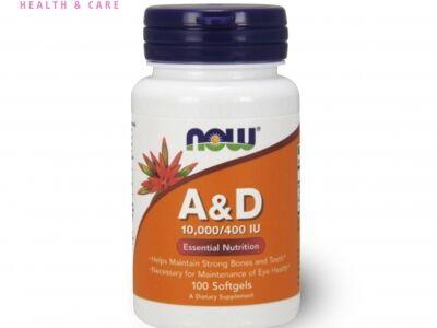 NOW A- és D-vitamin