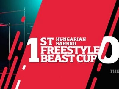 1st Hungarian Barbro Freestyle Beast Cup street workut verseny