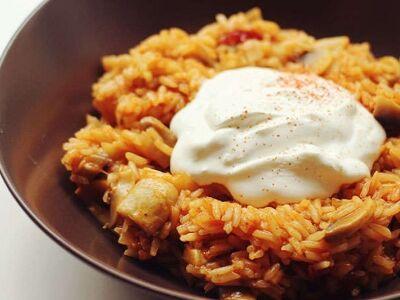 Bácskai rizses gomba (vegetáriánus recept)