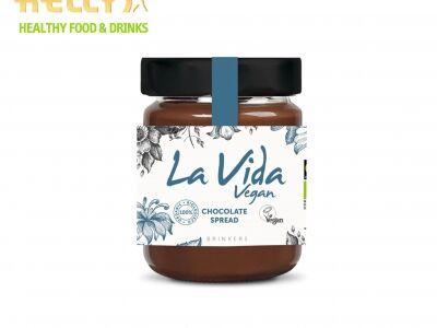 La Vida 100% organikus, vegán csokoládékrém