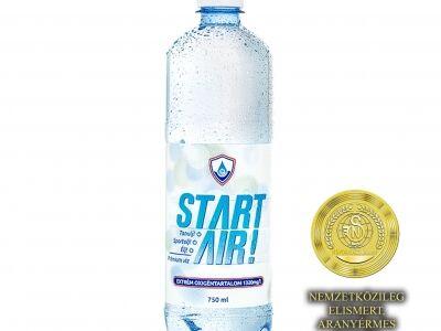 Start Air! Prémium víz, extrém oxigéntartalommal