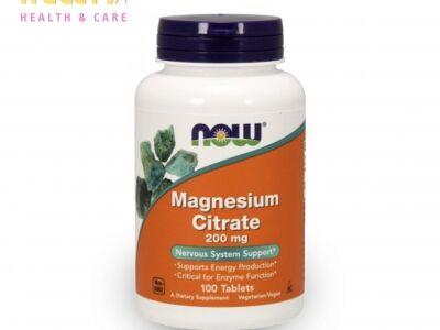 NOW magnézium-citrát
