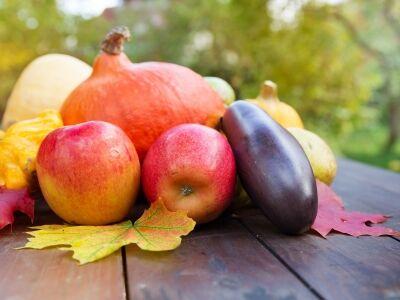 A legfinomabb őszi zöldségek és gyümölcsök
