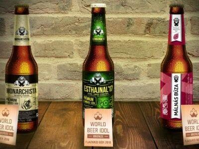 Először nyert díjat magyar lager sör