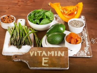 E-vitamin, mint antioxidáns