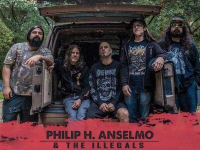 100% PANTERA szettel érkezik Phil Anselmo