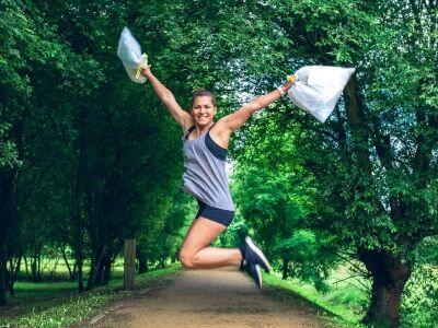 Edzés és környezetvédelem egyszerre?