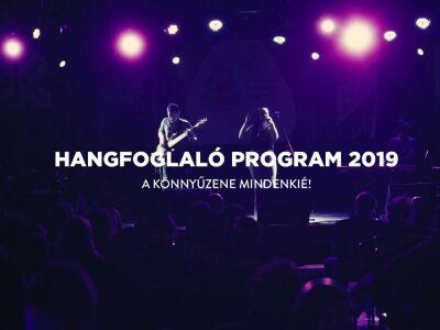 Hangfoglaló Program: 2019 eredményei egy videóban