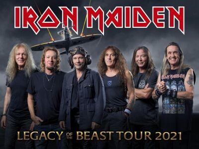 Budapest is bekerült az Irod Maiden 2021-es turnéjába