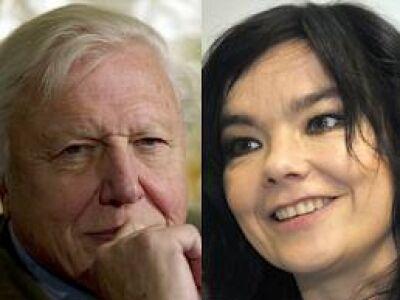Björk és David Attenborough újabb közös produkciója