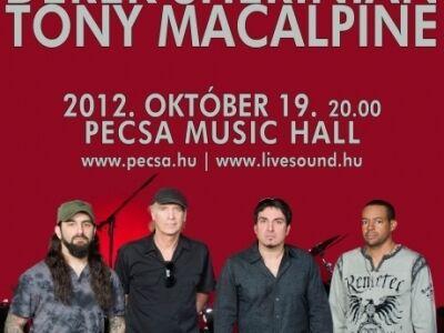 Mike Portnoy, Billy Sheehan, Derek Sherinian és Tony MacAlpine októberben a Pecsában