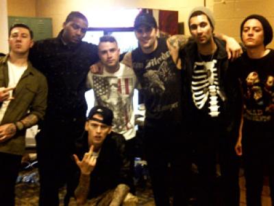 Avenged Sevenfold - Két tag is vendégszerepel az ifjú rapper debüt lemezén