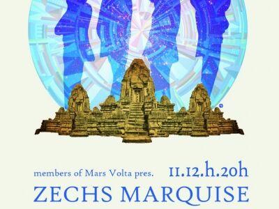 Zechs Marquise, Secret Chiefs 3 - Mars Volta és ex- Mr. Bungle tagok az A38 fedélzetén