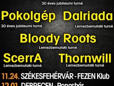 Metal.hu Turné 2012.