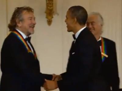 Led Zeppelin - Kennedy Center Honors elismerés Obamától