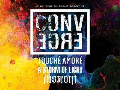 A Phoenix Music Hungary és a Dürer Kert bemutatja: Converge (USA), Touché Amoré (USA), A Storm Of Li