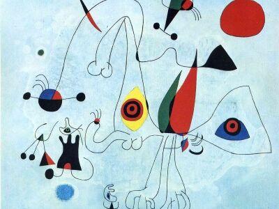 Joan Miró-kiállítás a szegedi REÖK-ben