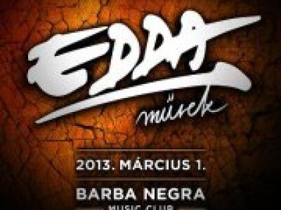 Edda Művek - 2013. első pesti koncertje @ Barba Negra