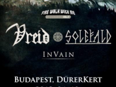 Vreid, Solefald, In Vain - Az avantgárd prog. metal északi mesterei egy esten