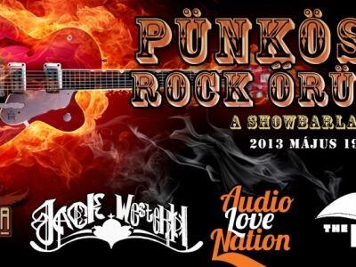Ozone Mama, Audio Love Nation, Caught The Flow, Jack Western, Snake Obsession (I) - Pünkösdi rock-őr