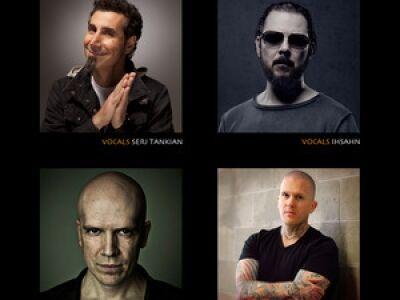 Serj Tankian és Devin Townsend karitatív kollaborációja
