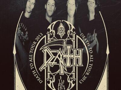 Death To All Tour - Chuck Schuldiner egykori zenésztársai Death-műsorral turnéznak