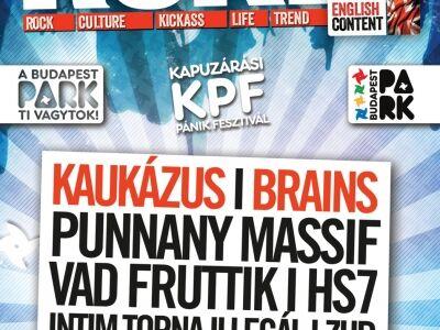 Kapuzárási Pánik Fesztivál – A BP Park évadzáró koncertsorozata