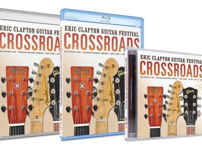 Eric Clapton -  CD-n is kijön a Crossroads Guitar Festival 2013 anyaga