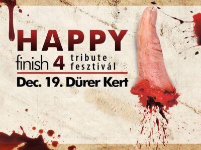 Adománygyűjtés a 4. Happy Finish Tribute Fesztiválon!