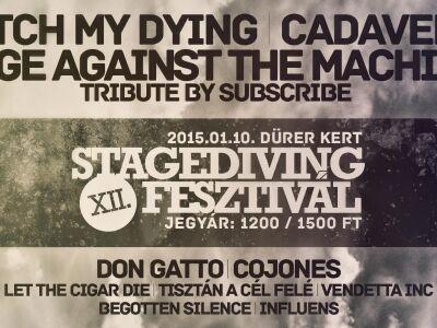XII. Stagediving Fesztivál @ Dürer Kert