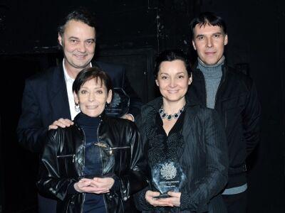 A Vörös Oroszlán 100. előadásán átadták a Szepes Mária-díjat