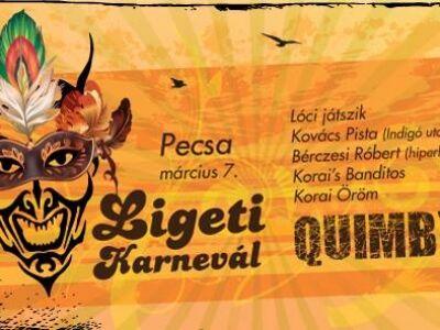 Ligeti Karnevál - Quimby, Korai Öröm, stb. @ Pecsa